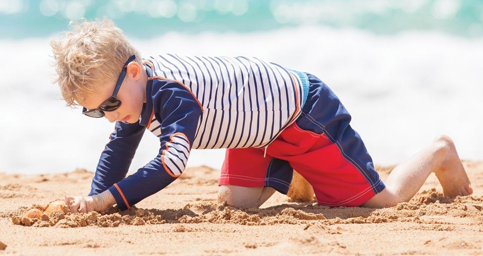 Childrens outdoor wear