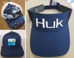 Huk hats at Coastal Outfitters