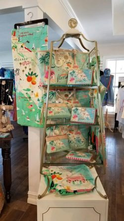 Spartina Bags in the outdoor wear isle.